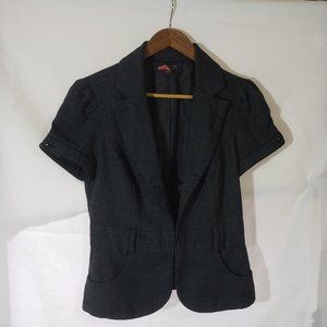 21 Blazer Black/Wite Polka Dot Size Medium